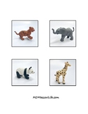Animal Object-to-Picture Matching Cards