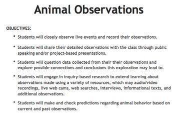Animal Observations Center
