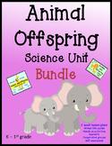 Animal Offspring BUNDLE with Lesson Plans - Kindergarten,
