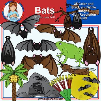 Clip Art - Animal Pack - Bats