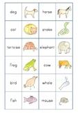 Animal Pairs memory game