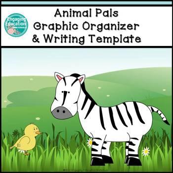 Animal Pals Beginner Writing Activity