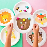 Animal Paper Plate Mazes