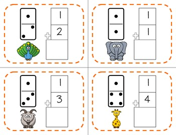Domino Addition Task Cards