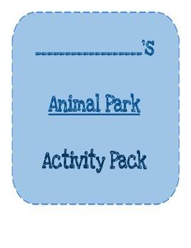 Animal Park Activity Pack
