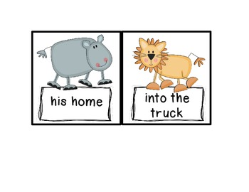Animal Park Fry Phrases Reading Street
