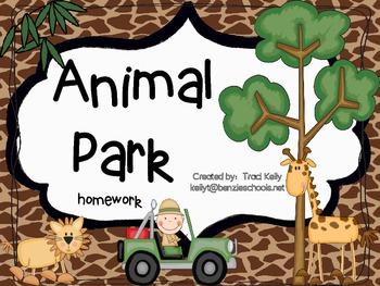 Animal Park Homework - Scott Foresman