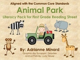 Animal Park Literacy Pack - First Grade Foresman Reading Street