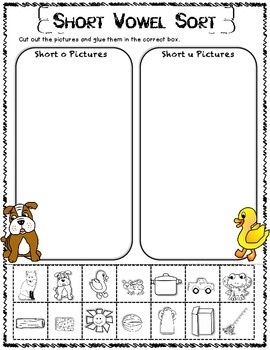 Animal Park Reading Street First Grade Unit 1 Story 6