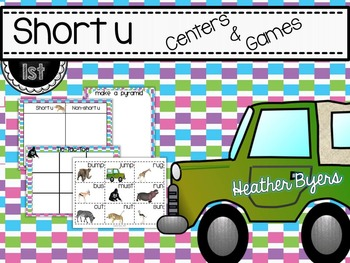 Short u Centers and Games