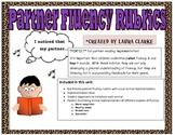 Fluency Rubrics: Animal themed Kid Friendly!!