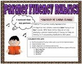 Fluency Rubrics: Animal themed Kid Friendly!!