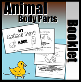 Animal Parts Booklet (Independently Labeling Version)