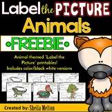 Animals Label the Picture FREEBIE (Characteristics, Oviparous, Adult/Baby)
