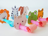 Animal Party Blowers