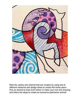Animal Patchwork Designs