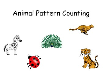 Animal Pattern Counting Activity
