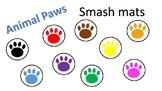 Animal Paw Print Color Smash Mat