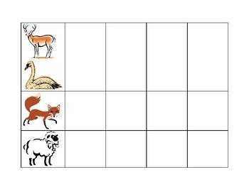 Animal Phoneme Segmentation Activity