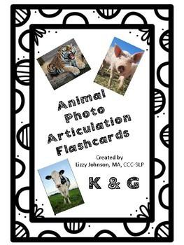 Animal Photo Articulation Flashcards