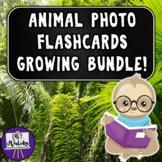 Animal Photo Flashcards Growing Bundle!