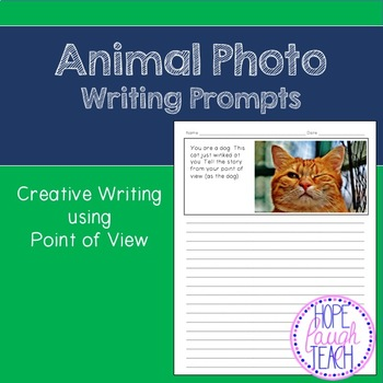 Animal Photo Writing Prompts Point of View