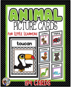 Animal Picture Cards for Little Learners