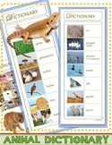 "Animal Picture Dictionary & Word Bank (Portable ""Word Wall"")"