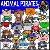 Animal Pirates Clip Art Set {Educlips Clipart}