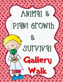 Pearson Science 5th grade Animal & Plant Growth & Survival Gallery Walk