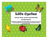 Animal, Plant and Insect Life Cycle Packet