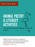 Animal Poetry & Literacy Activities