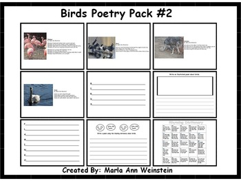 Animal Poetry Packs Bundle #2