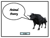 Animal Poetry - PowerPoint with integrated activities