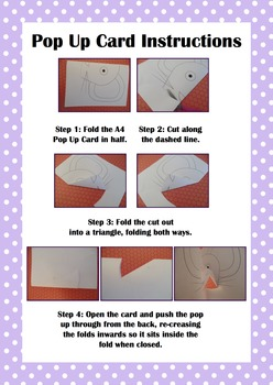 Animal Pop Up Card Templates