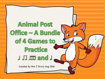 Animal Post Office - 4 Games to Practice Rhythm