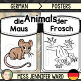 Animal Posters (BUNDLE) : German