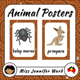 Animal Posters in Boandik