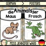 Animal Posters (Colour) : German