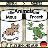Animal Posters (Colour) : German