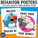 Classroom Behavior Posters