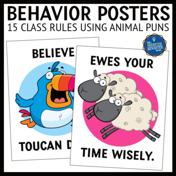 Behavior Management Posters