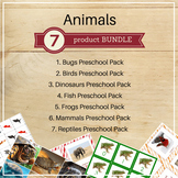 Animal Preschool Packs Bundle