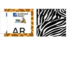 Animal Print Accelerated Reader Labels