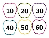 Animal Print Apples Skip Counting By 10s