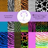 Animal Print Backgrounds 8.5x11