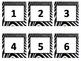 Animal Print Calendar Numbers