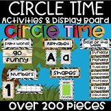 Animal Print Circle Time Activities and Display Board
