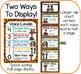 Animal Print Classroom Decor: Voice Levels Chart