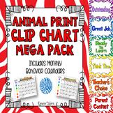 Animal Print Clip Chart Mega Pack